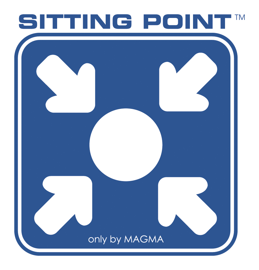 SITTING POINT only by MAGMA