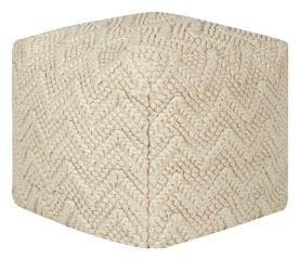 Sitzsack MONACOR Cube Baumwolle gestrickt mit Inlett