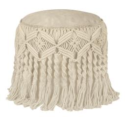 Sitzsack FIESTA Dot.Com 100% Baumwolle gestrickt mit Inlett