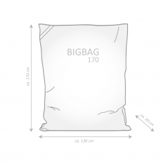 Sitzsack PLANTA BigBag Microfaser Digitaldruck