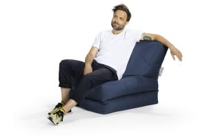 Sitzsack Scuba Twist jeansblau
