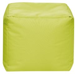 Sitzsack Scuba Cube 40x40x40cm grün