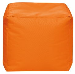 Sitzsack Scuba Cube 40x40x40cm orange
