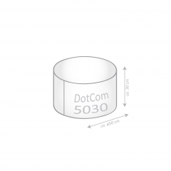 Sitzsack Brava Dot.Com OOPS 50x30cm