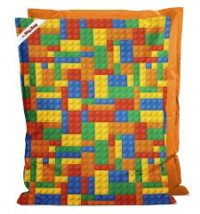 Kindersitzsack Little Big Bag Bricks