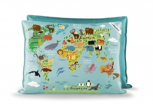 Kindersitzsack Little Big Bag World
