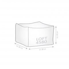 Sitting Point OUTSIDE Loft grau (Outdoor/Indoor)