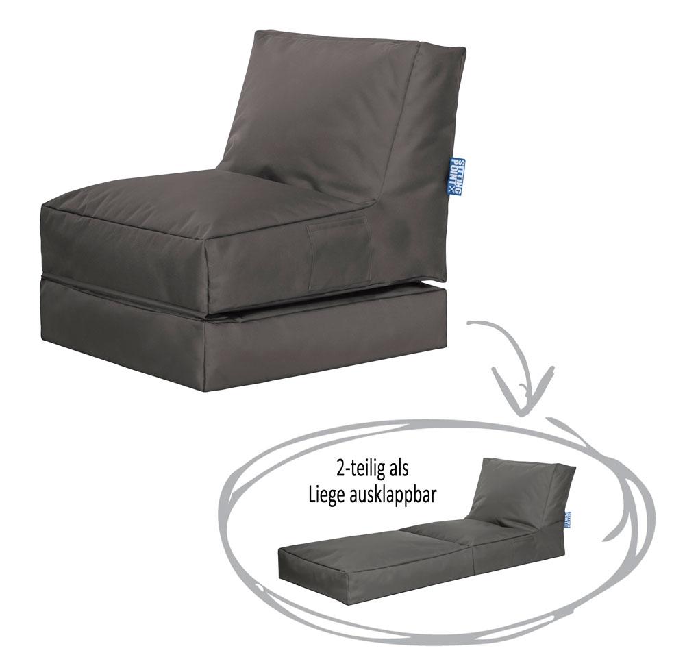 fatboy original outdoor waschbarer sitzsack f r drau en best sitz germany. Black Bedroom Furniture Sets. Home Design Ideas