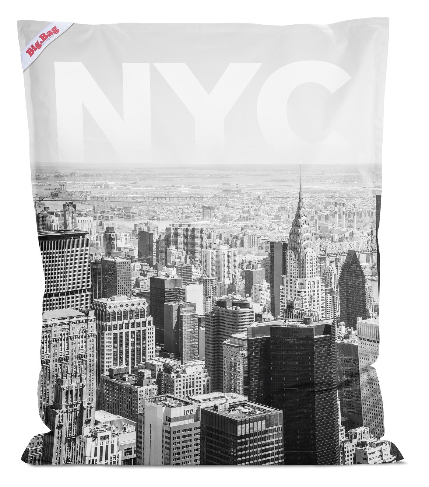 sitzsack brava big bag nyc 130x170cm schwarz. Black Bedroom Furniture Sets. Home Design Ideas