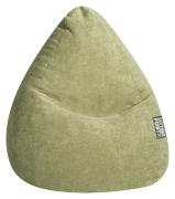 Sitzsack ALFA Velours grün XL ca. 220L