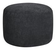 Sitzsack ALFA Dot.Com Velours schwarz