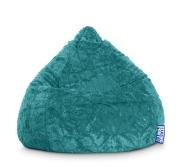 Sitzsack Fluffy XL ca. 220 Liter smaragd