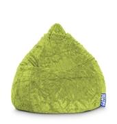 Sitzsack Fluffy L ca. 120 Liter grün