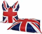 Sitzsack BIG BAG Union Jack 135x170cm