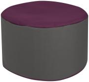 Sitzsack Scuba Bebop Dot.Com aubergine