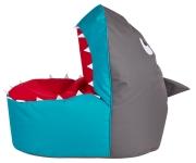 Kindersitzsack Brava Shark