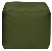 Sitzsack Scuba Cube 40x40x40cm oliv