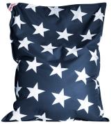 Sitzsack Brava Big Bag Stars 130x170cm jeansblau
