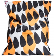 Sitzsack Brava Big Bag TRIGON 130x170cm orange