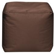 Sitzsack Scuba Cube 40x40x40cm braun