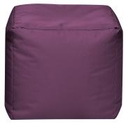 Sitzsack Scuba Cube 40x40x40cm aubergine