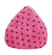 Sitzsack Fluffy STARS XL ca. 220 Liter pink