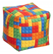 Kindersitzsack Cube Bricks