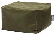 Sitzsack Loft JIMMY grün Lederimitat mit Inlett